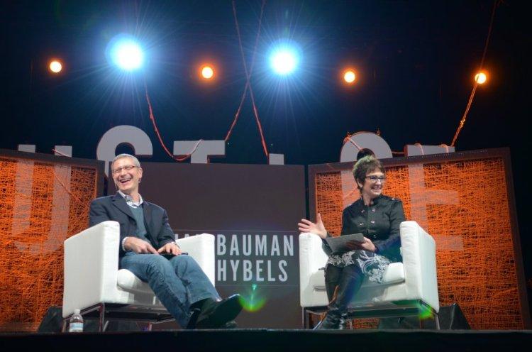 Stephan Bauman and Lynne Hybels